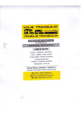 Informe Tecnico-ingeniero Mecanico Matric.-cambio Uso/tipo