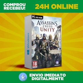 Assassins Creed Unity - Pc Português + Dlc Envio 0