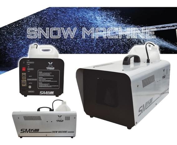 Maquina De Nieve 1.500w + Control Remoto