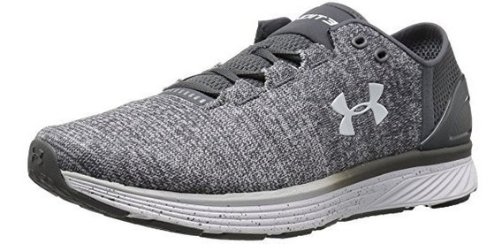 Tenis Under Armour Charged Bandit 3 Gris 18 Us