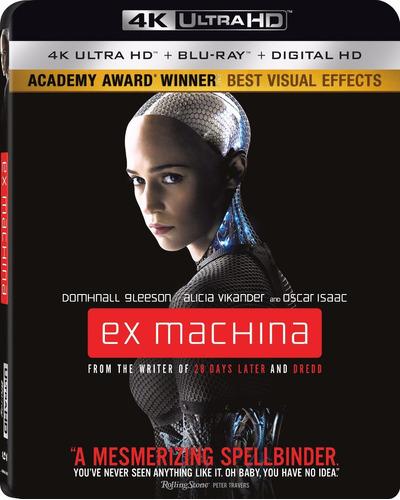 Imagen 1 de 3 de 4k Ultra Hd + Blu-ray Ex Machina