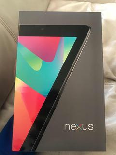 Tablet Asus Google Nexus 7 Pulgadas 32 Giga Wifi 3g