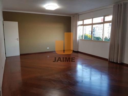 Apartamento Com 150 Metros, 2 Vagas, Próximo À Praça Buenos E Ao Shopping Higienópolis.   - Ja16510