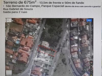 Terreno À Venda - São Bernardo 675m2 - Oportunidade