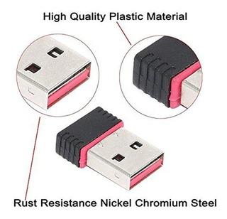 Adaptador Nano Wifi Usb Inalambrico 300 Mbps
