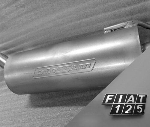 Fiat 125 Cañossilen Equipo Completo