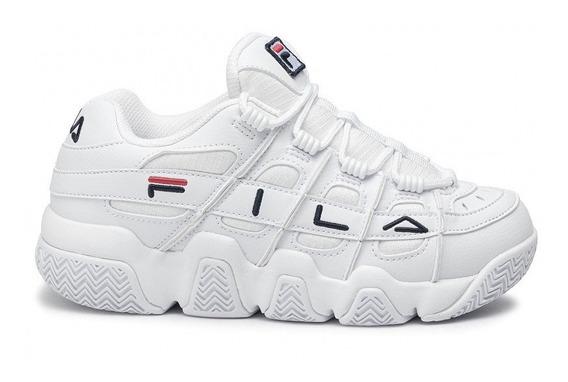 Zapatillas Fila Uproot Blancas De Mujer