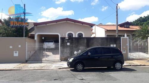 Casa Com 1 Dormitório Para Alugar, 50 M² Por R$ 950/mês - Cidade Jardim - Campinas/sp - Ca0184