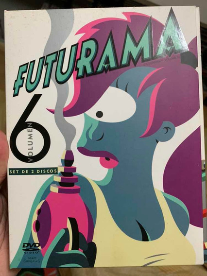 Dvd Futurama Volumen 6