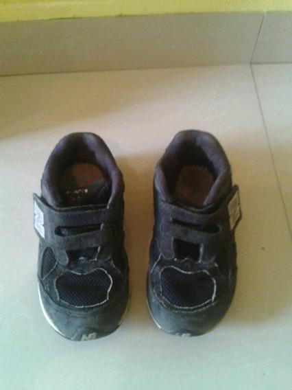 Zapatos Usados New Balance Originales Color Negro Talla 23