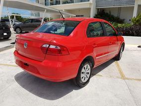 Volkswagen Gol Cl Sedan Tm 1.6lts 2016 Rojo