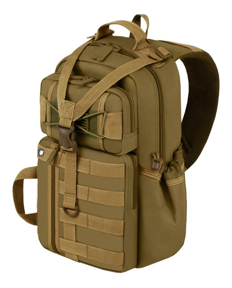 Mochila Tactica Militar East West Usa Mariconera Pechera Ori