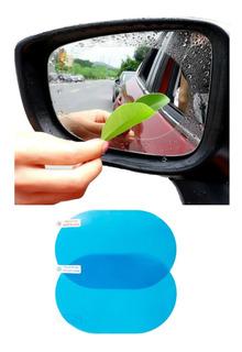 Película Protectora Lluvia Espejo Retrovisor Auto Moto 2pz