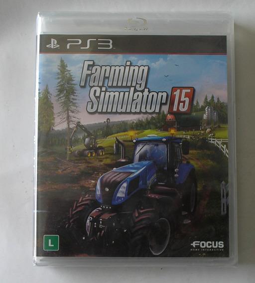 Farming Simulator 2015 Ps3 Português Lacrado