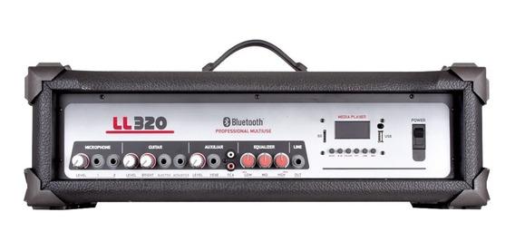 Cabeçote Amplificado Multi-uso 75w Com Usb Ll320 Ll Áudio