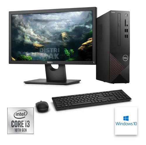 Imagen 1 de 5 de Dell Vostro Sff 3681 I3-10100 4gb 1tb Monitor 18,5 Pul Win10