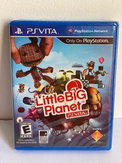 Jogo Little Big Planet- Psvita- Novo-lacrado