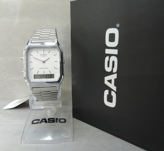 Relógio Casio Vintage Unissex - Mod Aq-230a-7dmq Nf/garantia
