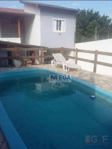 Casa Com 4 Dormitórios À Venda, 190 M² Por R$ 550.000,00 - Parque Da Figueira - Campinas/sp - Ca1270