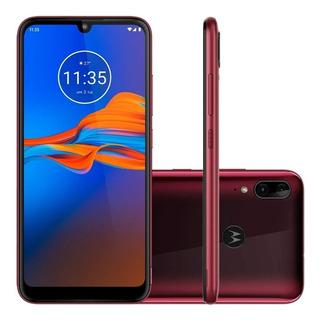 Motorola E6 Plus 64gb 4ram Color Arándano