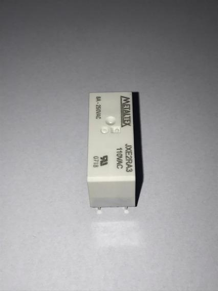 Jxe2ra3 Rele Miniatura Bob. 110vca-8a 2 Contatos (2 Peças)