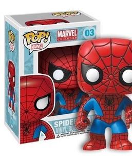 Muñeco Figura Funko Pop Spiderman Marvel #03 Hombre Araña