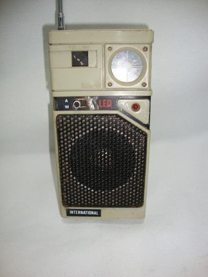 Antigo Radio National Portatil *** Não Funciona***