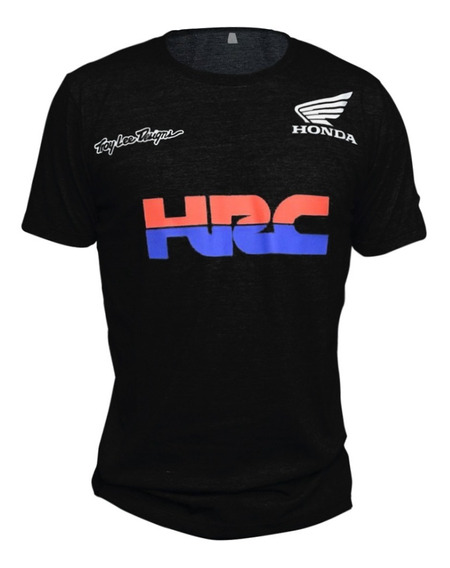 Remera Honda Hrc Troy Lee Algodon 100% !!!!