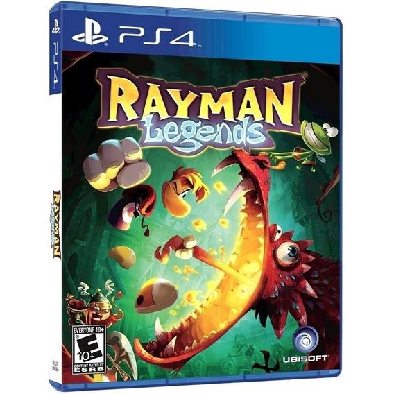 Jogo Rayman Legends Ps4 Midia Fisica Novo Dublado Barato Br