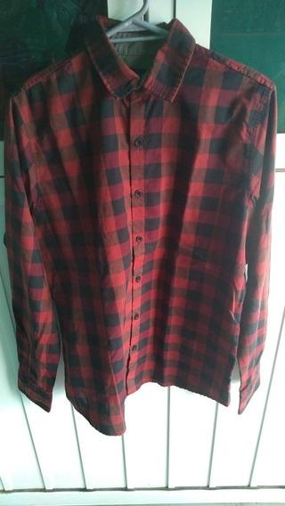Camisa Cuadros Roja Urbant