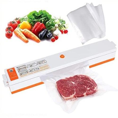 Imagen 1 de 3 de Sellador De Fundas Al Vació Eléctrico Para Carnes Vegetales