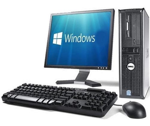 Computadora Pc Completa +monitor 19+mouse+parlantes Windows
