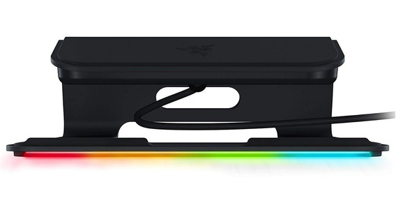 Soporte Notebook Razer Laptop Stand Chroma Rgb 3 Puertos Usb