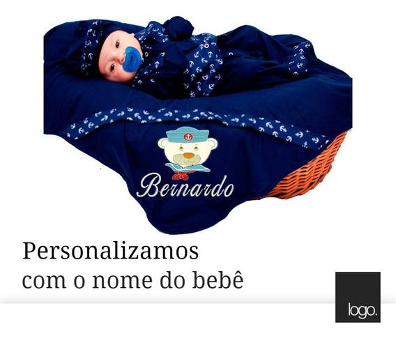 Kit Saída De Maternidade Menino Marinheiro Personalizável