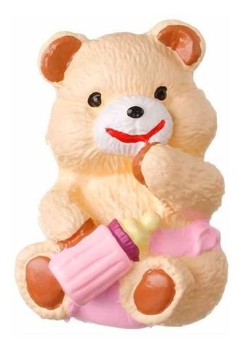 2 X Puxador Infantil Urso Rosa Móveis Gavetas Portas