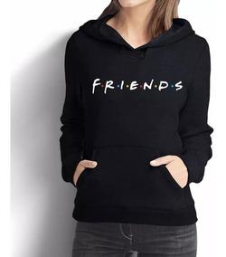 * Moletom Canguru Blusa Feminino Roupa Friends Série