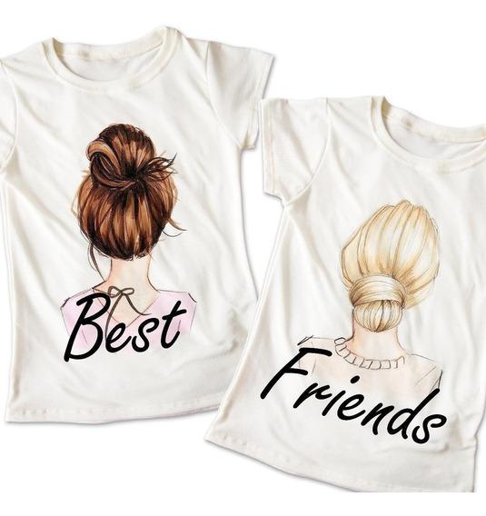 Nuevo! Blusas Mejores Amigas Best Friends Playera 012