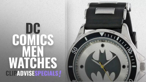 Reloj Para Hombres Batman Dc Comics 45mm