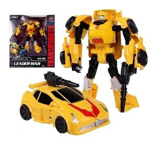 Muñeco Transformer Simil Optimus Prime Bumblebee Metal Yf945