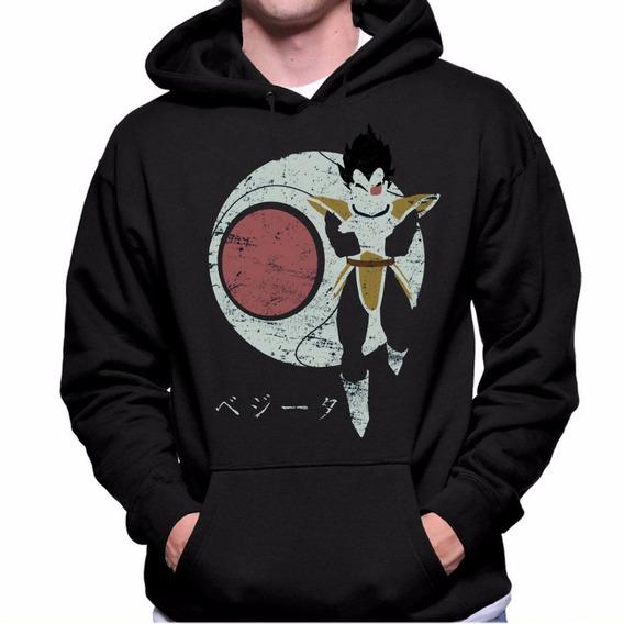 Blusa Moletom Canguru Dragon Ball Vegeta