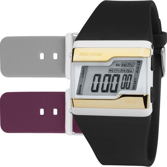 Relógio Mormaii Feminino Troca Pulseiras Fzw/t8d