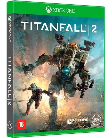 Jogo Titanfall 2 Xbox One Disco Fisico Cd Original Game Novo Lacrado Português Br Nacional Oferta