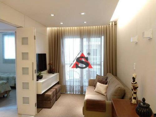 Apartamento Com 2 Dormitórios À Venda, 53 M² Por R$ 320.000,00 - Sacomã - São Paulo/sp - Ap39753