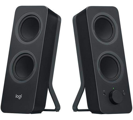 Caixas De Som Bluetooth Logitech Z207 5 Watts Rms Nfe E Gar
