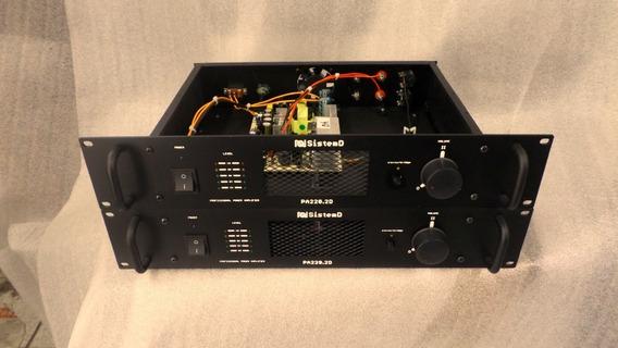 Amplificador De Potencia Stereo *promoção*