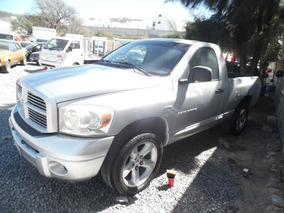 Ram 4x4 Sport 2007 Plata Pick Up