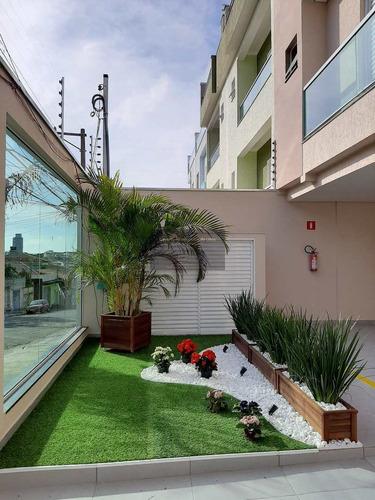 Imagem 1 de 30 de Cobertura Com 2 Dorms, Parque Oratório, Santo André - R$ 415 Mil, Cod: 205 - V205