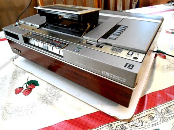 Video Cassete Betamax Sony Sl- 5400md ! Anos 80!