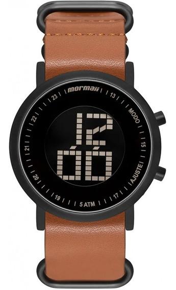 Relógio Mormaii Pulseira De Couro Mobjt003ac/2m