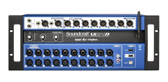 Mesa De Som Soundcraft Digital Ui24r